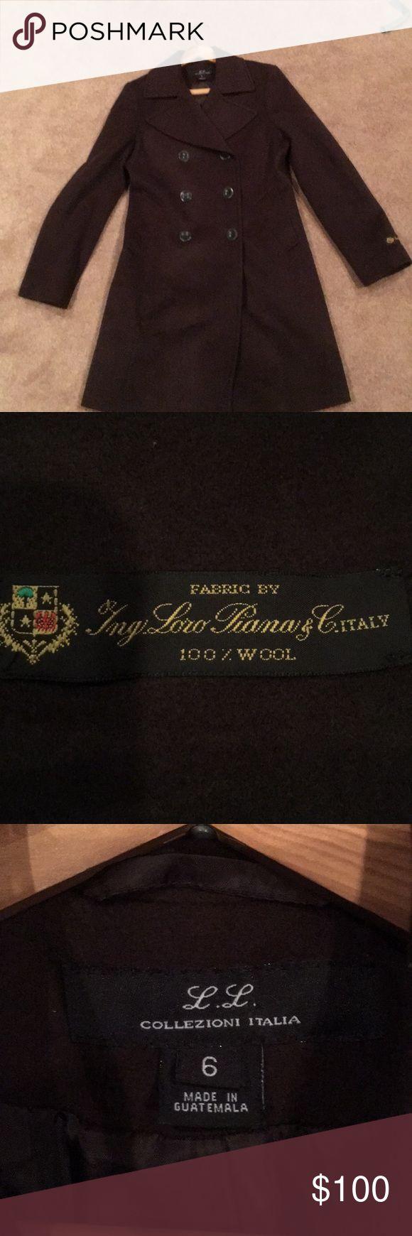 Wool coat Never worn Italian wool coat Loro Piana Jackets & Coats Pea Coats