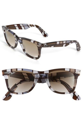 Yes I have Wayfarers now but really like these brown/blue mosaic new ones.  They are going to be hard to resist buying.