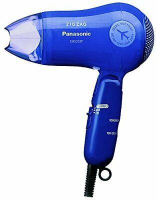 Panasonic Hair Dryer Zigzag Turbo Dry 1200 Blue Eh5202PA