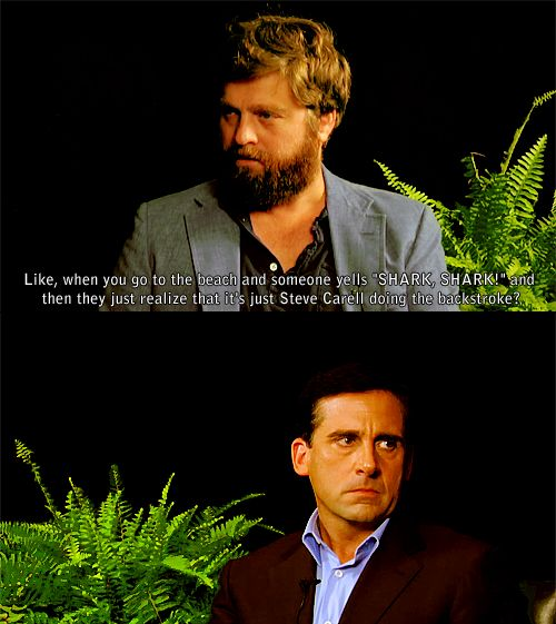 Steve Carell on Between Two Ferns