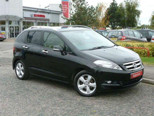 Used 2009 (09 reg) Black Honda Fr-V 2.2 i-CTDi EX 5dr for sale on RAC Cars