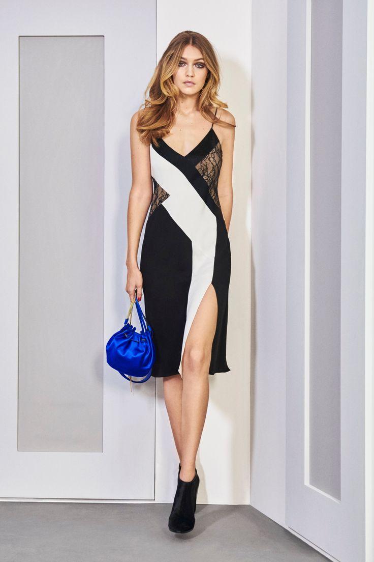 Gigi Hadid for Diane Von Furstenberg Fall/Winter 2016 - New York Fashion Week.