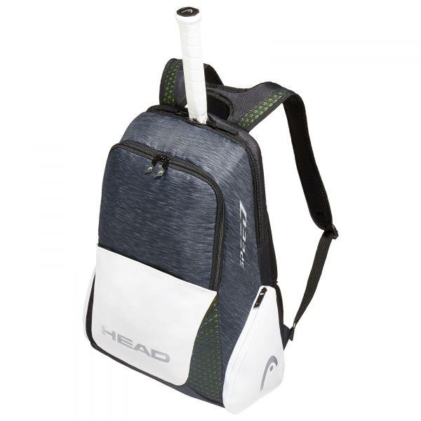 Head Djokovic Tennis Backpack Black White 63 95 Tennis Backpack Tennis Bags Black Backpack
