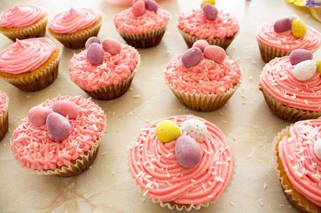 Easter Egg Cupcakes - Chantell Clark