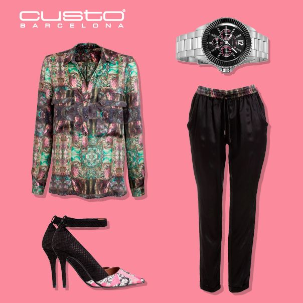 Este otoño ilumina tus looks 'working girl' con un toque arty. Encuentra el tuyo en www.custo.com  This autumn brighten up your 'working girl' looks by adding an arty touch. Get yours at www.custo.com
