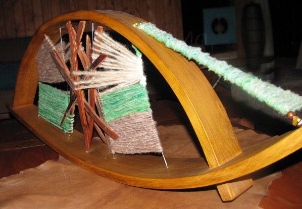 Curvas y lanas. Chiloe.