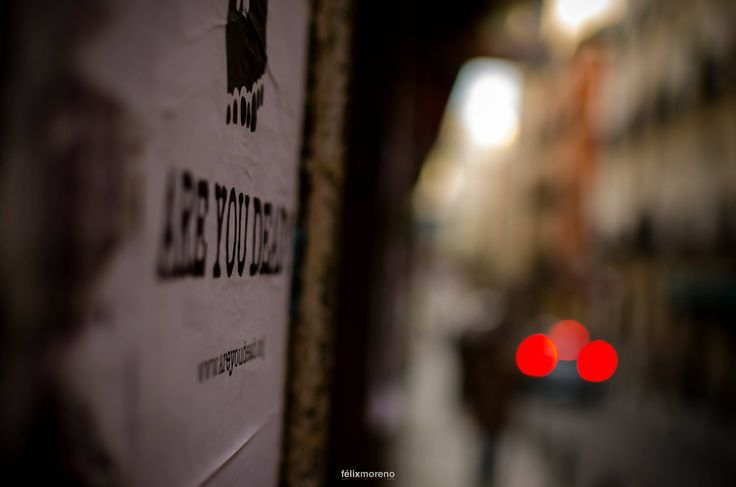 ARE YOU DEAD? Frena!! by © Félix Moreno Palomero #189 of #365Photos #Reto #Rojo