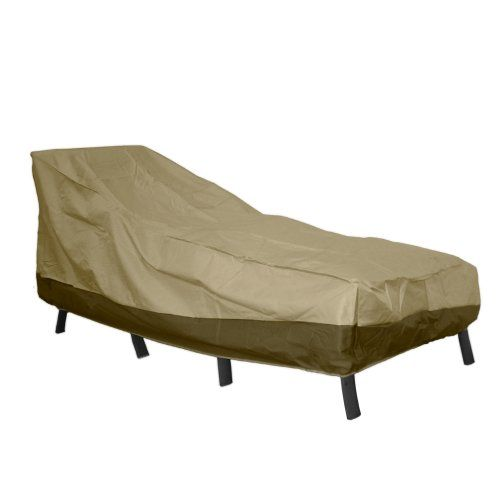 Patio Armor   Chaise Lounge Cover   This Easy To Clean Item Is Made From  High Grade And Quality Materials Keeping Your Outdoor Patio Furniture  Resistant For ...