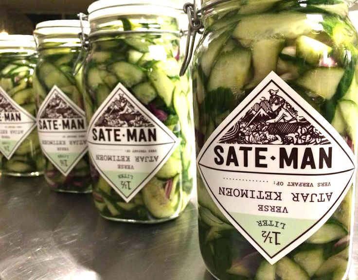 Packaging for the Sate-man.