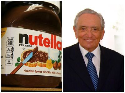 Michele Ferrero (Italian pronunciation: [miˈkɛːle ferˈrɛːro]; 26 April 1925 – 14 February 2015) was an Italian entrepreneur. He owned the chocolate manufacturer Ferrero SpA, Europe's second largest confectionery company, which he developed from the small bakery and café of his father in Alba, Piedmont. His first big success was adding vegetable oil to the traditional gianduja paste to make the popular spread, Nutella.  https://en.wikipedia.org/wiki/Michele_Ferrero