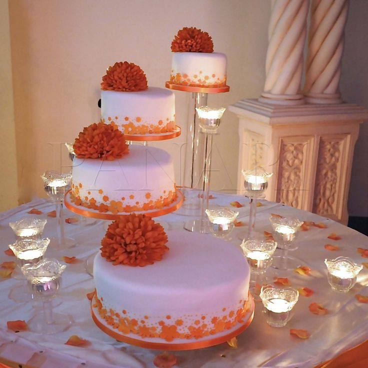 39 Best Images About Orange Amp White Wedding On Pinterest
