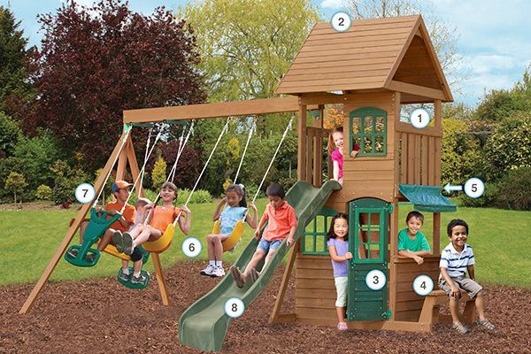 Windale - Products | Big Backyard Play Set