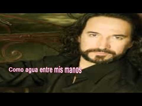 ▶ Marco Antonio Solis ♫ Tres Semanas ♫ (Letra) - YouTube