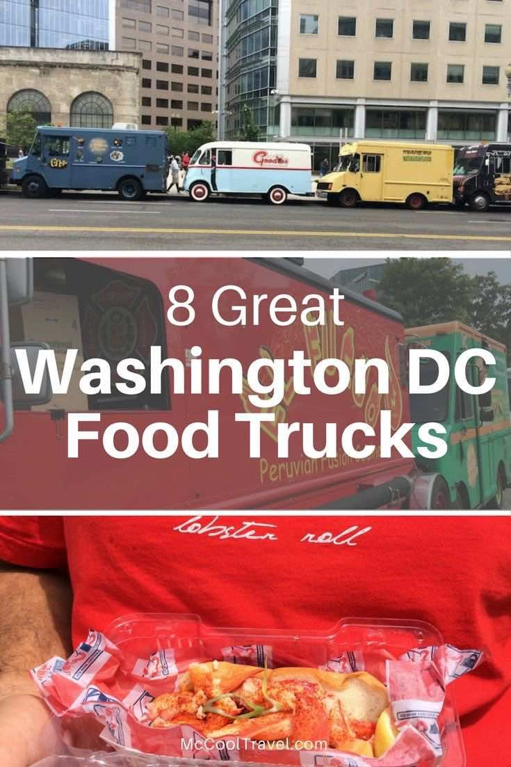DC food trucks | where to eat in DC | DC cheap eats | Eating at Washington DC (USA) food trucks is like taking a trip around the world.