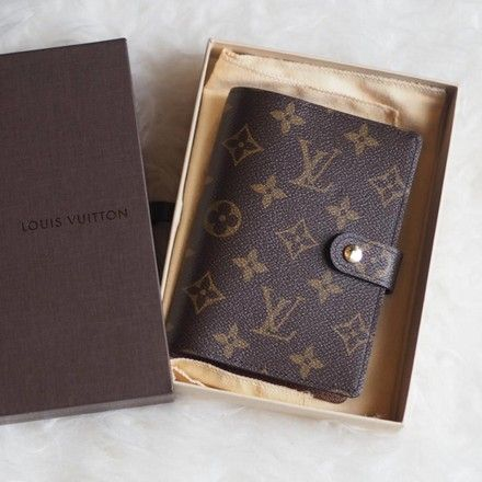 Louis Vuitton Monogram Luxury PM Agenda Notebook Cover
