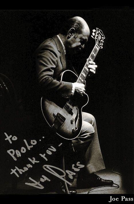 "Jazz photo: ""Joe Pass, 1991"" by AAJ Staff"