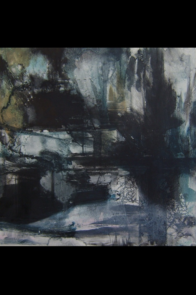 "Samantha Grindley Drypoint Print 12"" x 12"""