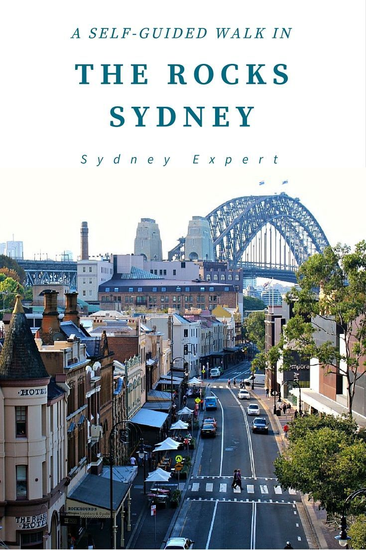 Spending half a day explore Sydney's historic streets is time well spent. This self-guided tour will help you find some of the hidden gems of The Rocks. #Sydney