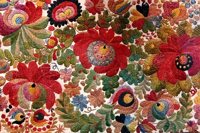Original Matyó embroidery (Forrás: MTI/Vajda János)