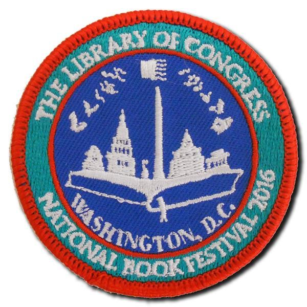 2016 National Book Festival Patch - Library of Congress Shop