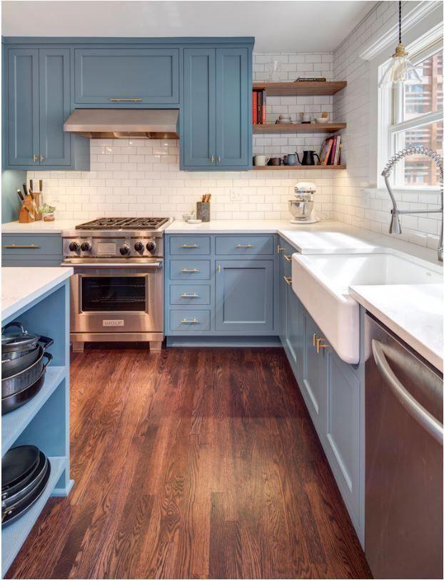 Get The App Broadened Kitchen Design Ideas Blue Kitchen Cabinets New Kitchen Cabinets Kitchen Renovation