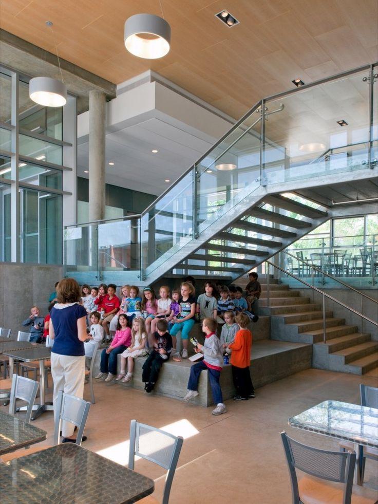 The Wheeler School Nulman Lewis Student Center Ann Beha Architects