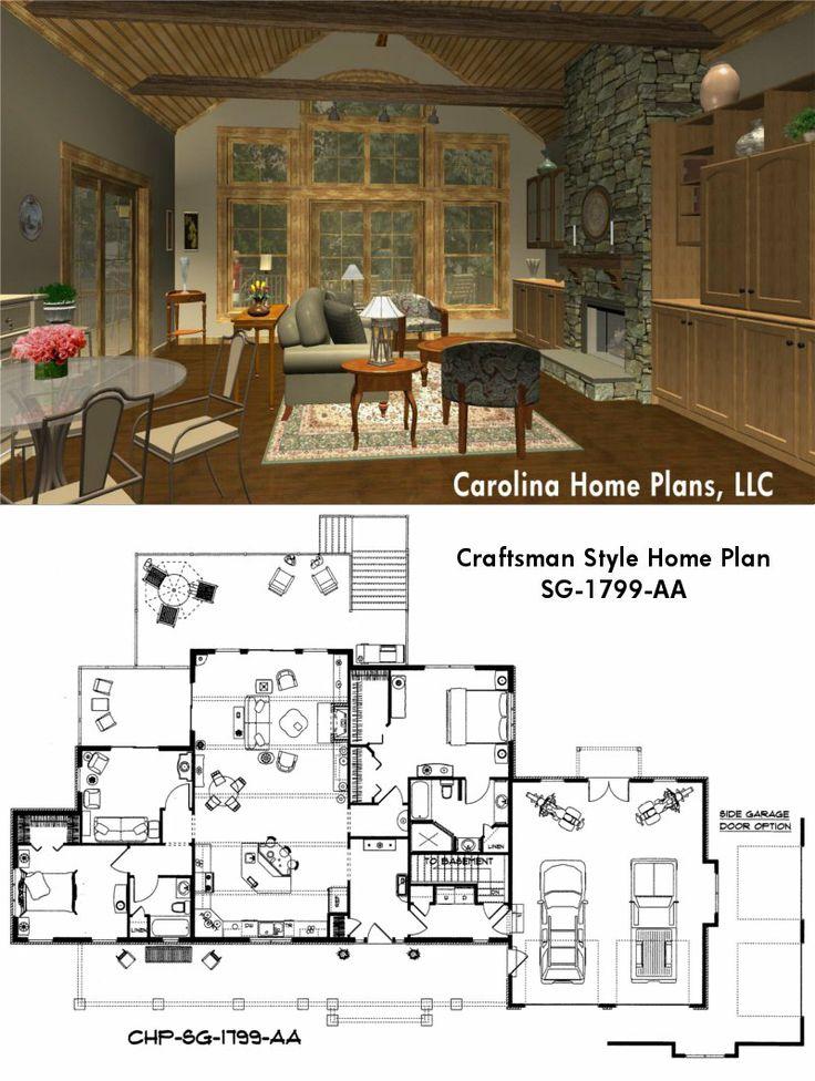 42 best House Plans in 3D images on Pinterest   Open floor ...