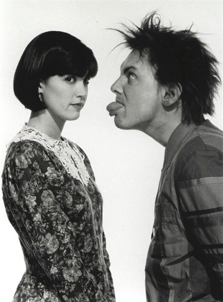 "Phoebe Cates and Rik Mayall in ""Drop Dead Fred"""
