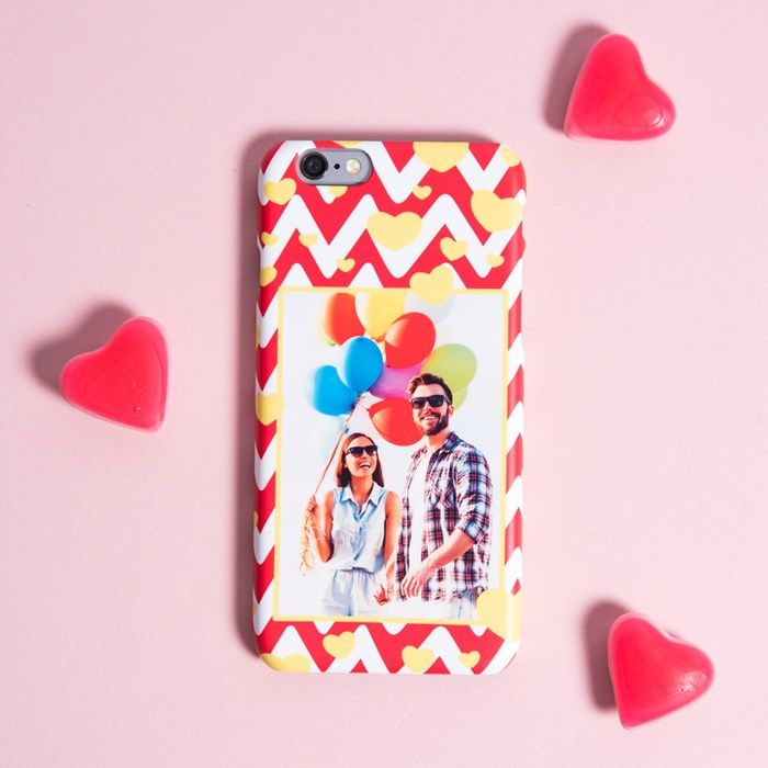 Photo Upload iPhone Snap Cover - Photo Hearts | GettingPersonal.co.uk
