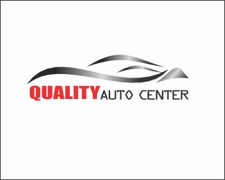 Q auto center Logo design - logo is suitable for the car companies, automotive, television shows, and some companies are in line with the design Price $400.00
