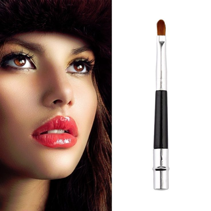 High Quality Portable Professional Lip Brush Cosmetic Make Up Beauty Tool Brushes New