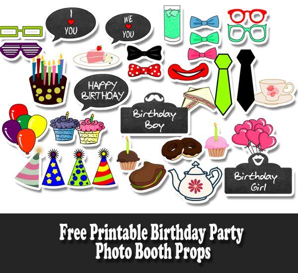 Birthday Party Photography Jakarta: 95 Best Free Birthday Printables Images On Pinterest