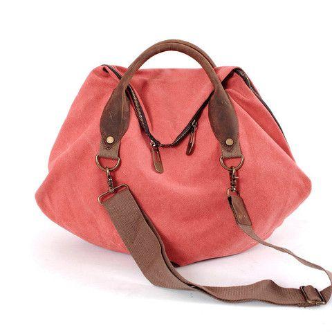 MIDOU Erica Orange Canvas Bag