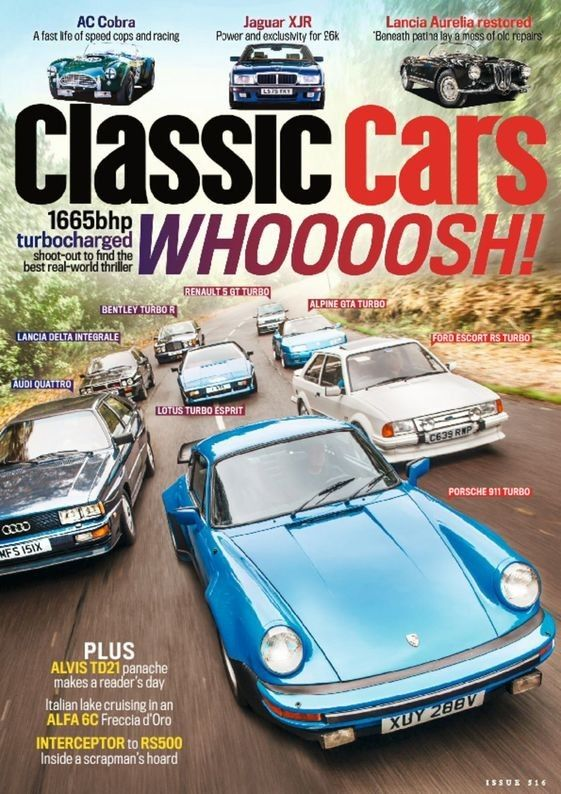#Classic Car Magazine ISSUE PER YEAR:Monthly COUNTRY:UK TYPE:Magazine CATEGORY: Cars - American CONDITION:New IMPORTED VIA:Air