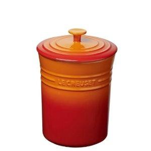 Le Creuset Stoneware Storage Jar, Volcanic, 0.8 Litre: Amazon.co.uk: Kitchen & Home