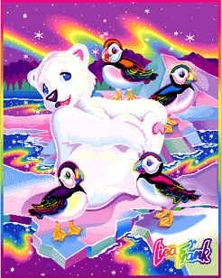 Lisa Frank! I had a diary with this picture on it