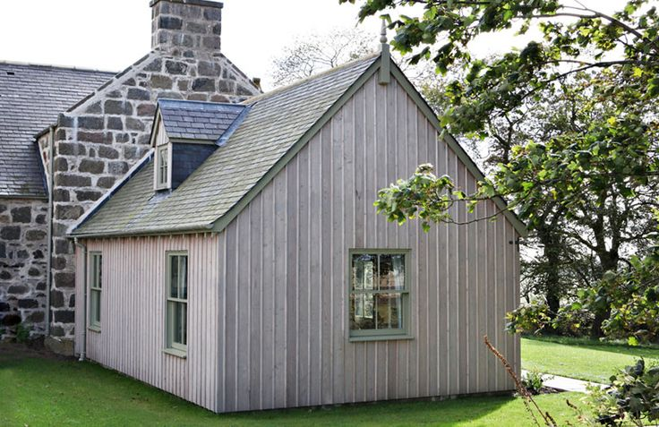 Remodeling; timber framed and timber clad garden room extension. http://anta.co.uk/made-in-scotland/architecture/ #anta #timber #architecture