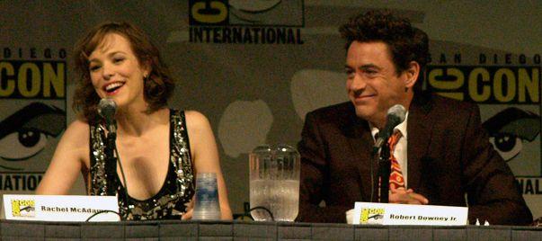 McAdamsDowneyJrSherlockHolmesCCJuly09 - Robert Downey Jr. - Wikipedia, the free encyclopedia