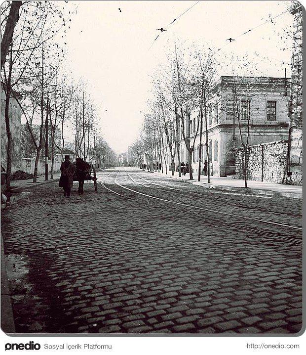 Beşiktaş Ortaköy yolu 1930'lu yıllarda