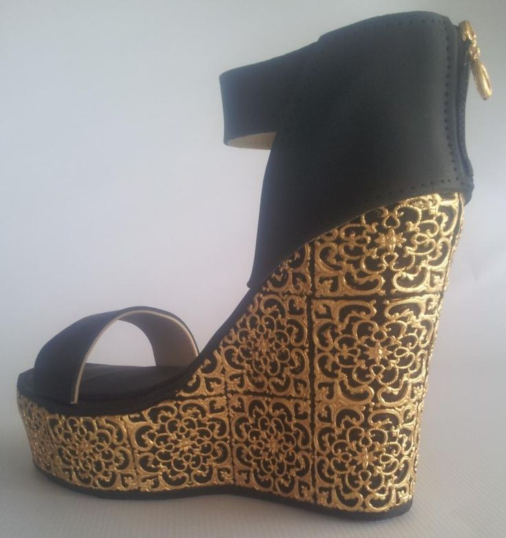 1000  ideas about Gold Wedges on Pinterest | Wedge heels Summer
