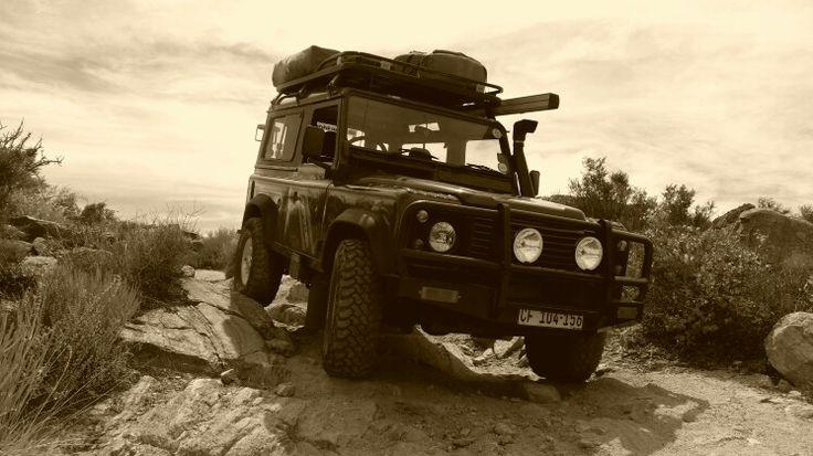 Rageltjie - Defender 90, 2.8i rock trail Springbok