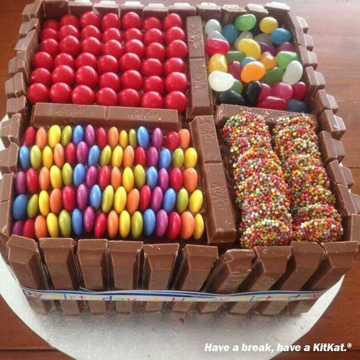 Now thats a party cake hello lollies Cake ideas ...
