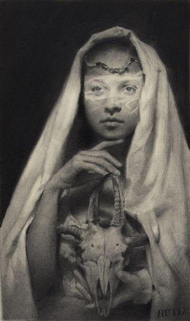 'La Dama y El Pasado' by Karla Ortiz