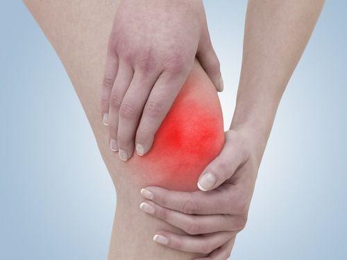 Symptômes de l'arthrose du genou.  L'arthrose du genou est une maladie chronique qui entraîne l'usure du genou, qui est très douloureuse et handicapante. Il est possible qu'à long terme, elle soit traitée par une opération impliquant la pose d'une prothèse articulaire.