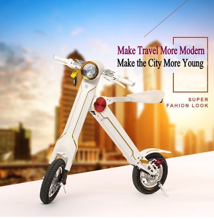 Light Electric Folding Scooter