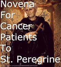 St. Peregrine. Thank you, Jesus! Please keep the blessings, healing powers and the goodness of grace flowing her way!