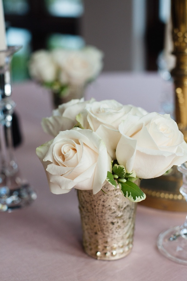 Best small rose centerpiece ideas on pinterest