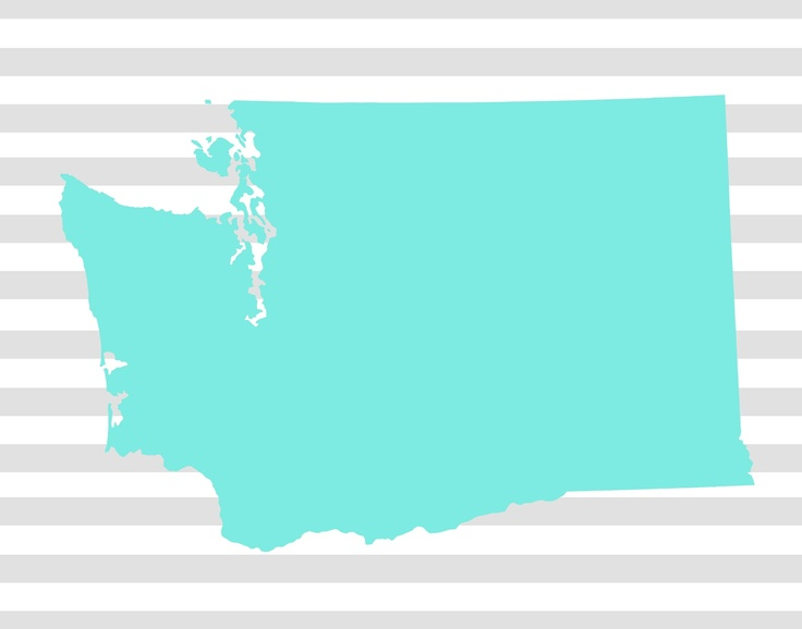 Free printables for each state and hearts to put over the city where you live / have been