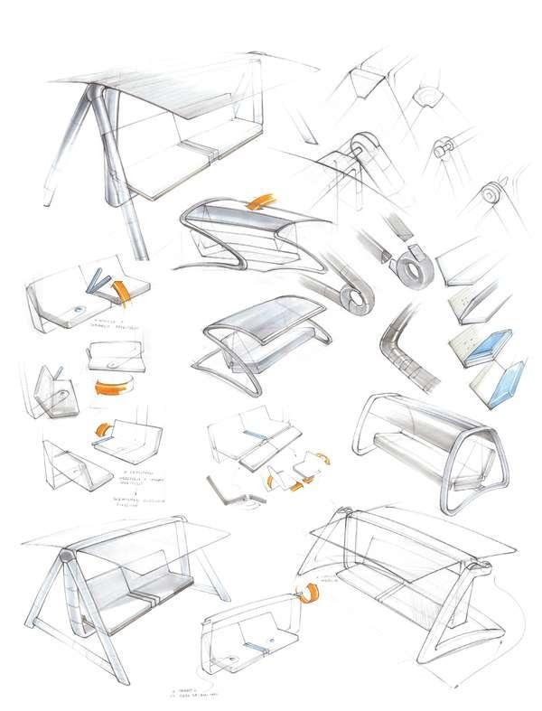 Cubed furniture collections inspiration - 5 5 designers bernardaud ...