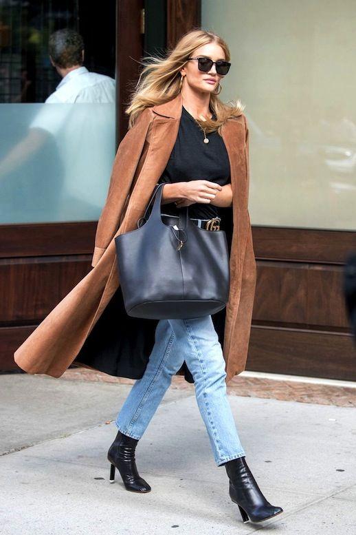 Get Rosie Huntington-Whiteley's Suede Coat Look | Le Fashion | Bloglovin'